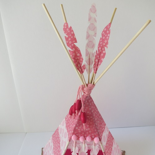18.DIY INDIAN SpiRIT LE TIPI