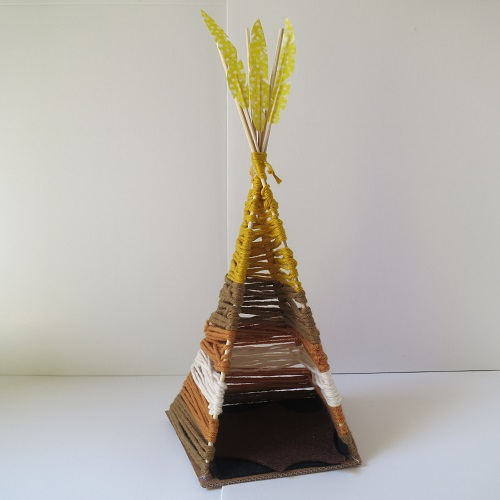 23.DIY INDIAN SpiRIT LE TIPI