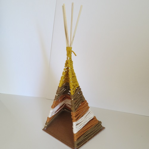9.DIY INDIAN SIPRIT LE TIPI