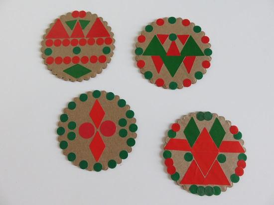 11.les guirlandes de Noël
