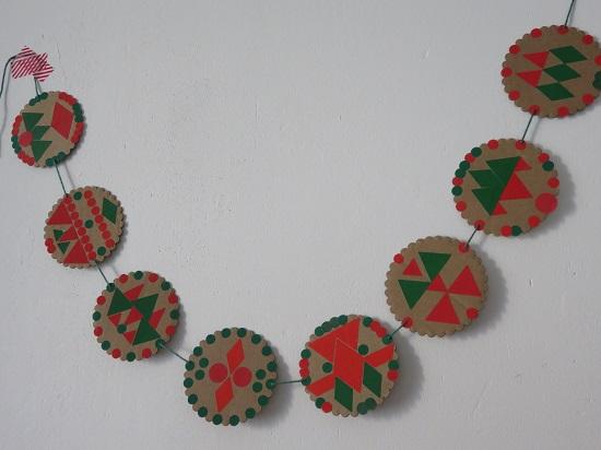 14.les guirlandes de Noël