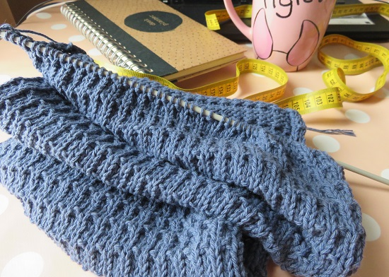 7.Sac tricoté