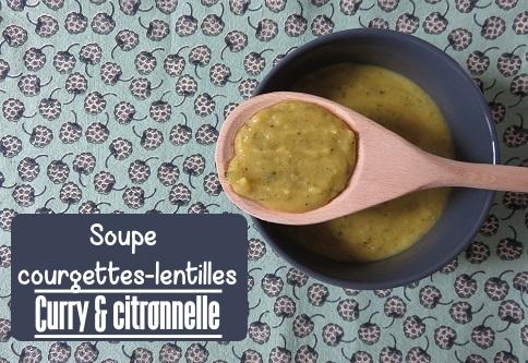 e.soupe courgettes lentilles