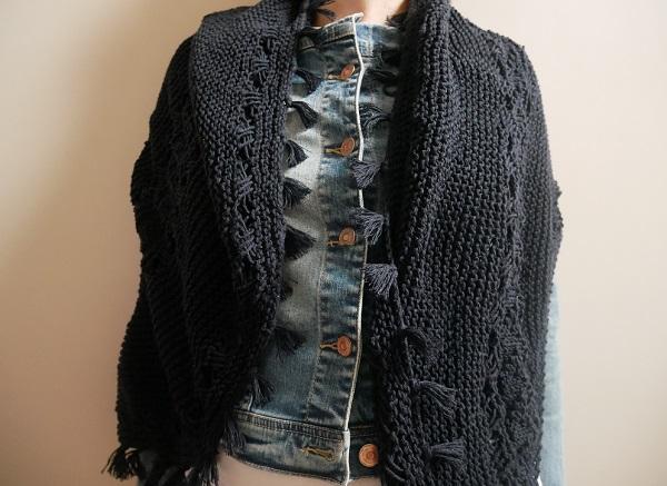 9.hipster shawl