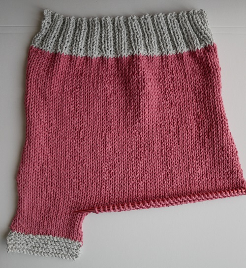 2.pantalon tricoté