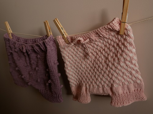 Bloomers fille au tricot 13