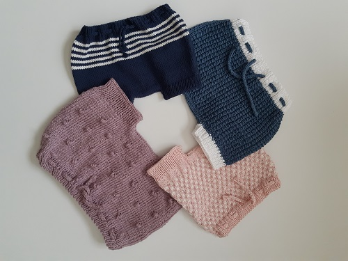 Bloomers fille au tricot 17