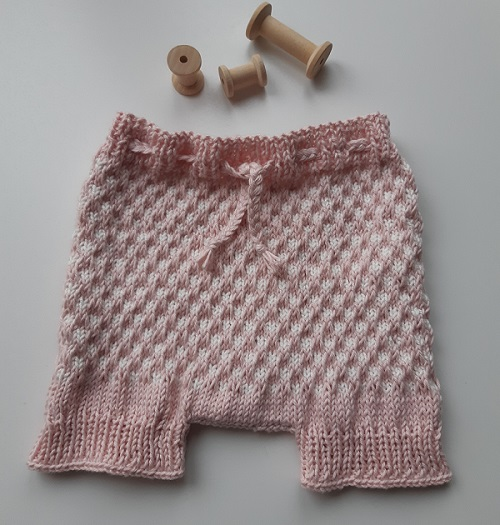 Bloomers fille au tricot 7