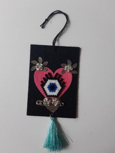 Amulette oeil protecteur oeil bleu