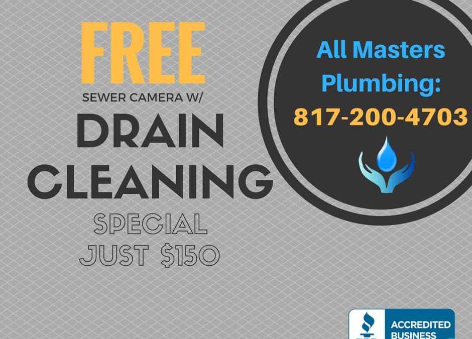 Drain Cleaning and Sewer Repair in Hurst, Euless, and Bedford Texas