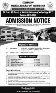 mlt admissions
