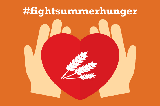 AMP Launches 4th Annual #fightsummerhunger Food Drive