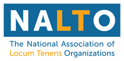 The National Associate of Locum Tenens Organization logo
