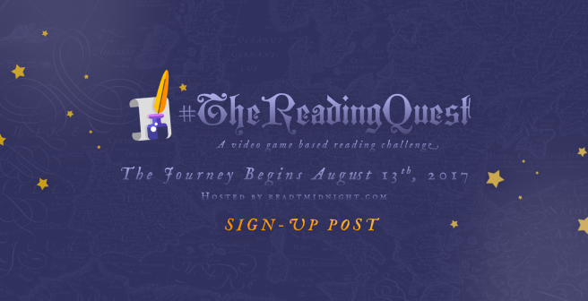 Abbildung des Sign-Up-Banners der Challenge #TheReadingQuest