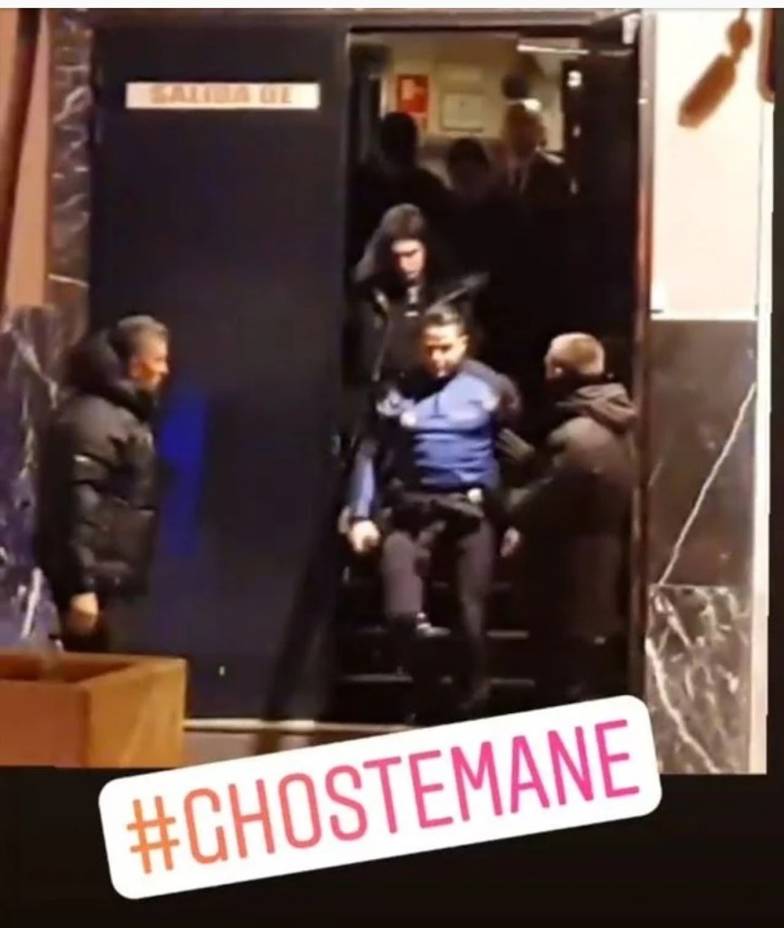 Ghostemane Arrested in Madrid