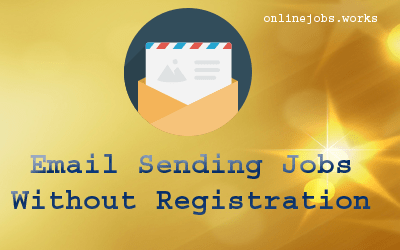 Email sending jobs without registractionm fees