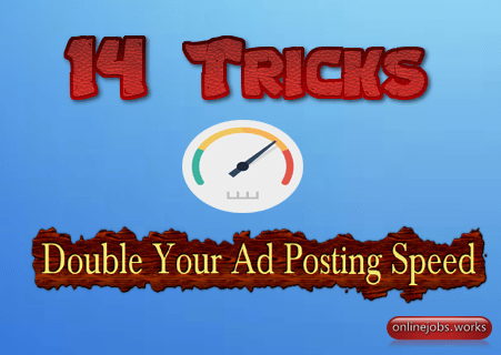 ad posting tricks to boost classified listing speed up to 3X more that regular