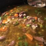 Venison Shank and Barley Stew