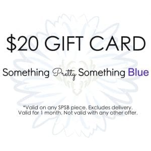 something pretty something blue $20