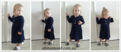 Merino Baby clothes - dress