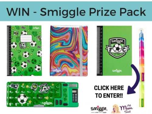Smiggle back to school Prize Pack All Mum Said