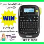 Epson LabelWorks LW-400 + GIVEAWAY