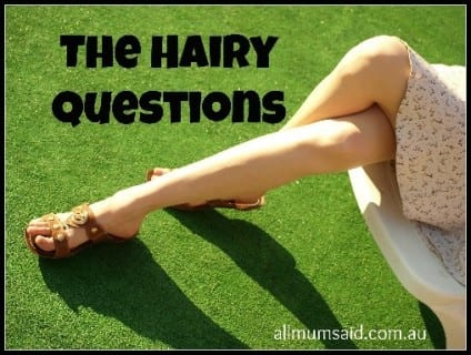Hairy questions kit VEET hair removal