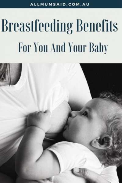 how breastfeeding benefits you and your baby
