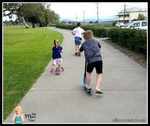 Globber scooters | family scooters exercise