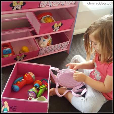 Childsmart toy storage