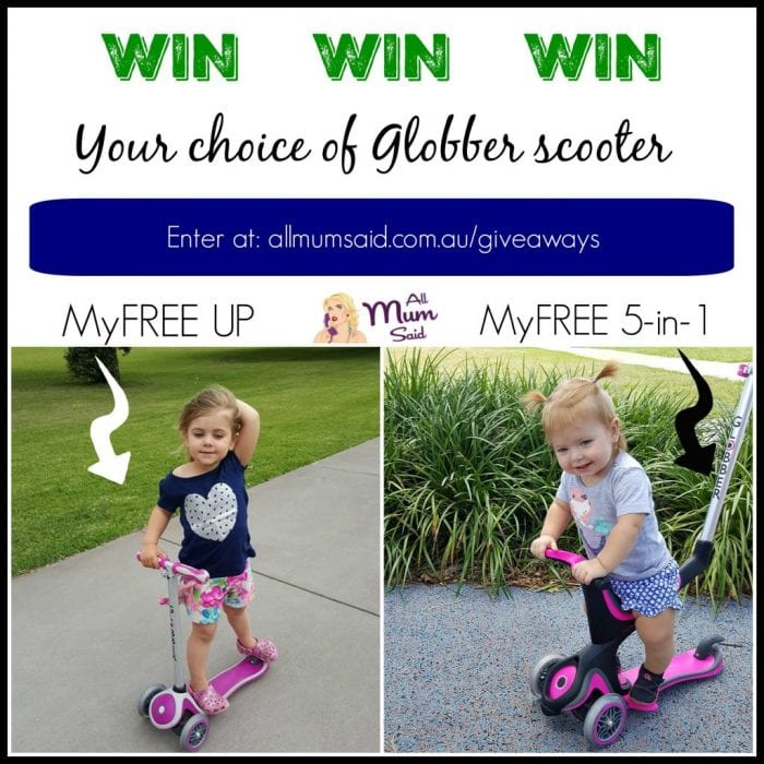 {WIN} Get Out & Have Fun - Globber Scooters For Kids