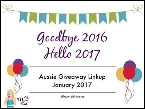 New Year | Aussie Giveaway Linkup January 2017
