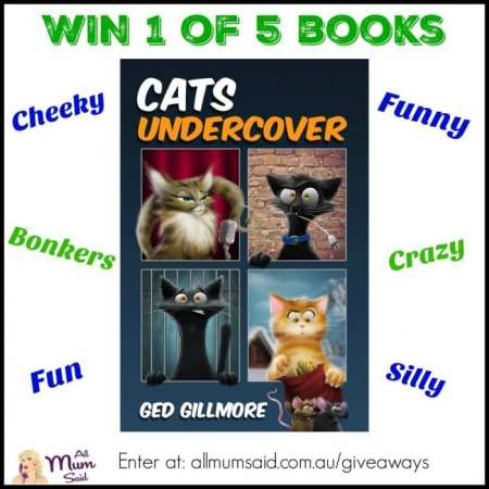 Ged Gillmore Cat Undercover book giveaway