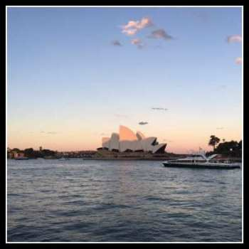 A view of the Opera house – Sydney
