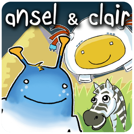 top educational apps for kids - ansel & clair