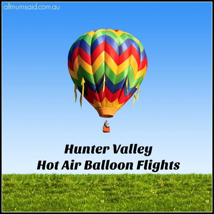 Hunter Valley Hot Air Balloon