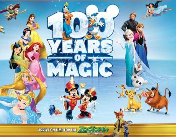 Disney On Ice Newcastle 100 years of magic