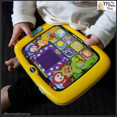 Teletubbies toys my first tablet
