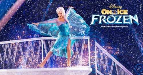 Disney On Ice Frozen ELSA using her magic and singing