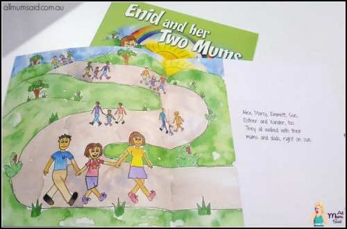 Enid and her two mums book review