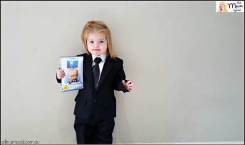 toddler in suit - The Boss Baby movie