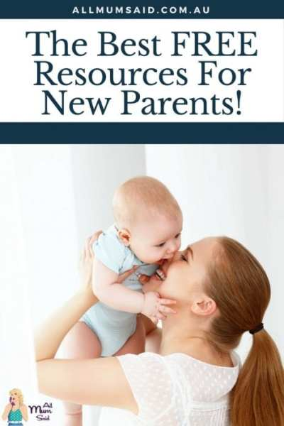 All Mum Said FREE resources for new parents
