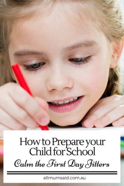 All Mum Said - How to prepare your child for school