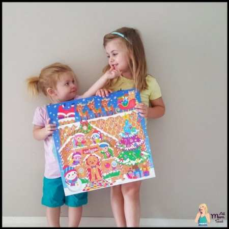 smiggle advent calendar with happy kids