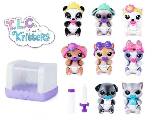 TLC Kritters collectibles