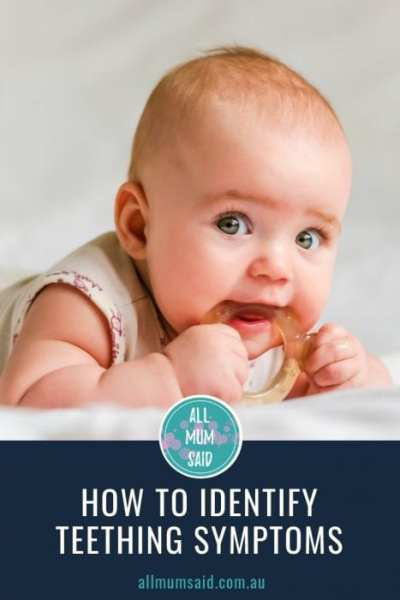 All Mum Said - How to Identify Teething Symptoms