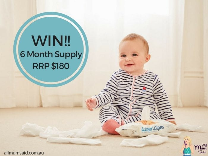 WaterWipes Giveaway - WIN 6x Months Supply