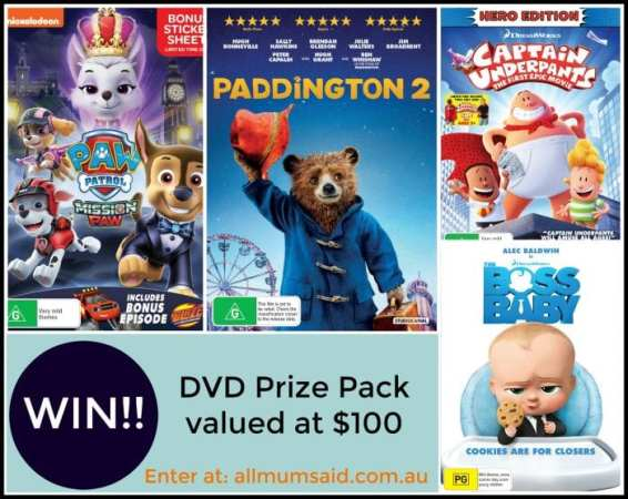 Universal Sony Pictures Movie night giveaway