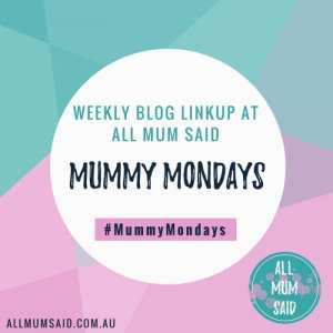 Blog linkup Mummy Mondays