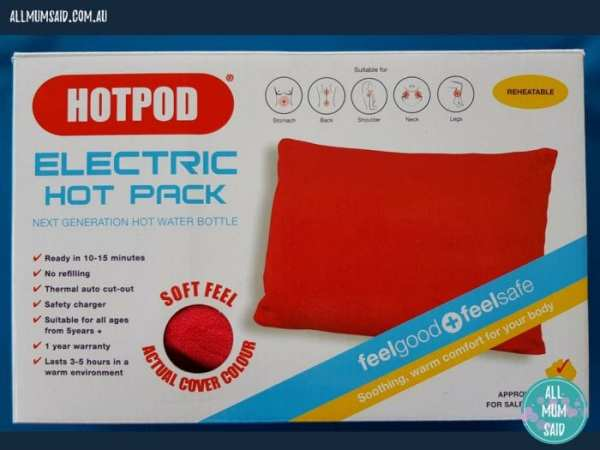 Hotpod Electric hot pack | getting ready for winter